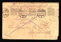 Germany 1916 POW Cover / Censor / Small Top Tears - Z14461