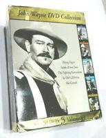 John Wayne Collection DVD 5 Disc Set-Flying Tigers Rio Grande Sands Iwo Jima + 2
