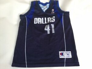 Genuine Champion Dallas Mavericks Basketball Jersey Vest Size Xl Age 13-14 years