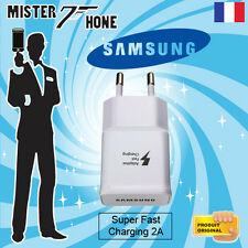 CHARGEUR RAPIDE ORIGINAL EP-TA20EWE FAST ADAPTIVE SAMSUNG GALAXY S6 SM-G620 2A