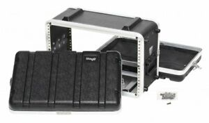Stagg Shallow ABS Case for 6-Unit Rack - ABS-6US