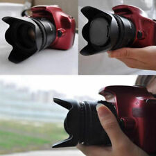 52mm Flower Petal Camera Lens Hood Cap for Nikon Canon Sony Lens Camera Fashion