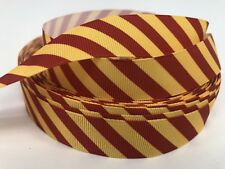 """BTY 1"""" Movie Harry Potter Grosgrain Ribbon Hair Bow Griffindor House Colors Lisa"""