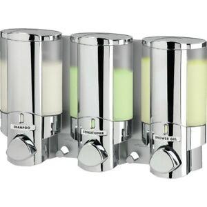 Aviva Shower Dispenser 3 Chamber by Better Living