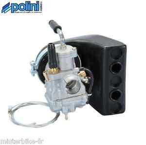 Pack carburateur CP Ø 17,5 avec filtre Racing polini  Vespa HP, PK, XL 50
