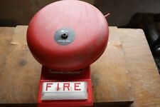 Simplex Red Bell And Strobe Wall Mount Fire Alarm