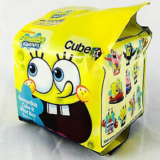 SpongeBob SquarePants Cube-It Series 1 Blind Box Mini Figure 4 Pack NEW Toys