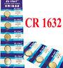 1 Pile Bouton CR1632 Lithium 3V  ,4 Piles Achetés = 5 Piles Livrés EXP: 12/2023