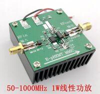 AE618 50-1000MHz Linear Amplifier 1W 20DB Gain RF Power Amplifier Ham Radio