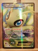 Celebi EX Boundaries Crossed 141/149 Ultra Rare Full Art * New * Pokemon Card
