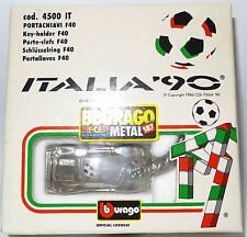 CARS : ITALIA 90 FERRARI METAL KEY RING MADE BY BURAGO (MLFP)