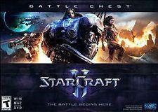 (NEW) STARCRAFT 2 II BATTLE CHEST VIDEO GAME PC WINDOWS MAC DVD