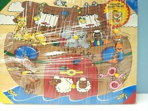 The Learning Journey Wooden Puzzle, Noah's Ark