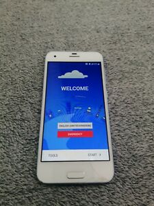 HTC ONE A9 mobile phone 32GB, white/silver Cracked Screen