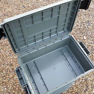 EMPTY AMMO BOX MTM CASE-GARD ACR4 AMMO CRATE UTILITY BOX STORAGE BOX FIELD BOX