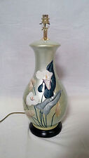 Special Offer  Now £49.99 ARUM LILY HANDPAINTED CERAMIC TABLE LAMP GREG2025 sale