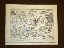 Mappa Russia Theatrum Orbis Terrarum 1724 Abraham Ortelius A.Ortelio Ristampa