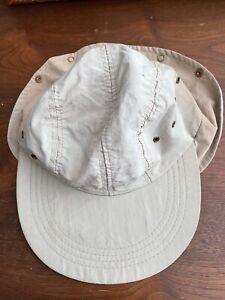 vintage ll bean long bill hat Small cap quakermarine ernest hemingway Fishing