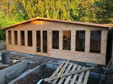26x14 full pane summer house, man cave, shed, garden building, house.