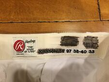 1997 Pittsburgh Pirates MARK JOHNSON Pants RAWLINGS GAME USED  w/ LAUNDRY TAG