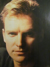 The Police, Sting, Full Page Vintage Pinup