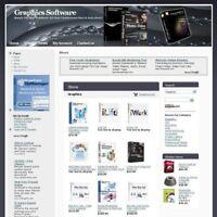 Established Graphics Software Online Business Website For Sale! Free Domain Name