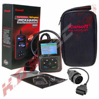 iCarsoft i910 incl. OBD-1 20 Pin Adapter für BMW Motor ABS Airbag Diagnosegerät