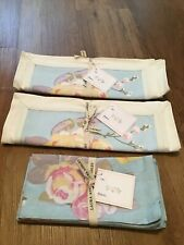 Laura Ashley Vintage Style Fabric Placements and Napkins (set of 4) NEW