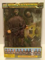 Power Team World Peacekeepers 12 Fully Poseable Action Figure Sniper New