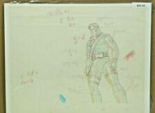 X-Men: ORIGINAL Hand Drawn Production Animation Sketch w/ COA 31-1
