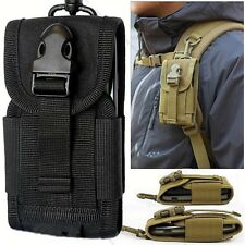 Universal Army  Belt Loop Hook Pouch Case Cover for  Samsung Galaxy Phones