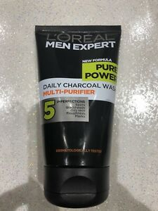 L'Oreal Men Expert Pure Power Charcoal Face Wash - 150ml Free Delivery UK