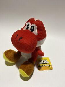 2007 Red Yoshi Plush Toy Plushie Japan New Super Mario E1.2