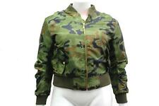 Camouflage None Casual Coats & Jackets for Women