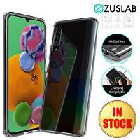 Samsung Galaxy A90 5G Case ZUSLAB Ultra Clear Heavy Duty Shockproof Cover