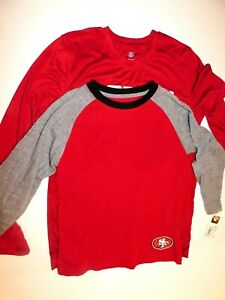 San Francisco 49ers Boy's Long Sleeves Shirt