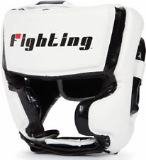 Fighting Sports S2 Gel Full Face Training Boxing Headgear White/Black FREE SHIP