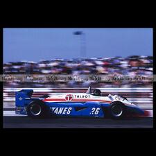#pha.034447 Photo LIGIER JS24 JACQUES LAFFITE GRAND PRIX SPA-FRANCORCHAMPS 1985