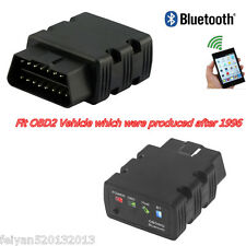 KW902 OBDll OBD2 ELM327 Bluetooth Fault Code Reader Car Diagnostic Scanner Tool