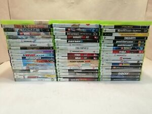 Lot of Xbox 360/Xbox games