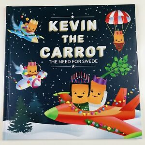KEVIN THE CARROT - The Need for Swede - Childrens Kids Hardback Story Book NEW