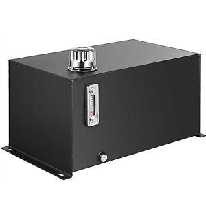 Hydraulic Reservoir Oil Tank Fuel Tank 10 Gal Steel with Filter& Temp Gauge