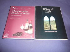 Teaching Co Great Courses DVDs        THE EVERYDAY GUIDE TO WINE     new + BONUS