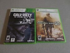 Call of Duty: Modern Warfare 2 & Call of Duty Ghosts - 2 Games -   Xbox 360