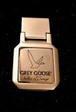 Grey Goose Vodka LOGO Stainless Steel Money Clip 2 1/4 x 1 New