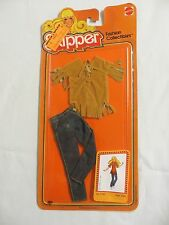 Vintage Mattel Skipper 1978 1980 On Card Fashion Collectibles Clothes Jeans 3780