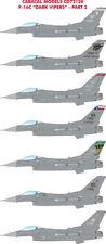 "Caracal Models 1/72 USAF Lockheed-Martin F-16C ""Dark Vipers"" - Part 2 # 72120"