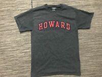 Champion Howard University Men's Small Tee T Shirt Gray Short Sleeve Crewnck