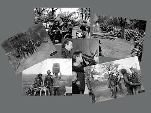 Set of 12 OUTLAWS MOTORCYCLE CLUB BIKER POSTER SET  by Flash Productions, LLC