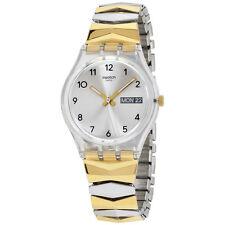 Swatch Originals Tresorama Silver Dial Stainless Steel Ladies Watch GE707B